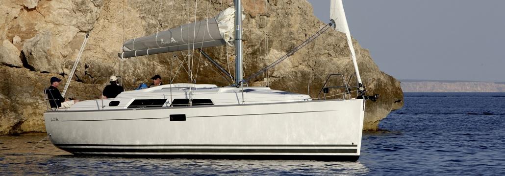Sailboat Hanse 350, Bombon Segundo