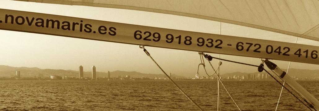 Disfruta del skyline de Barcelona desde nuestros veleros
